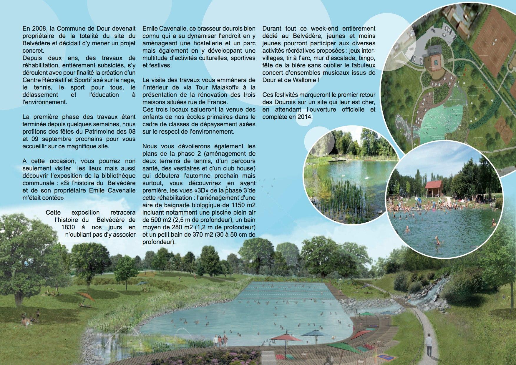 Plongez dans la premi re piscine bio de belgique for Prix piscine biologique