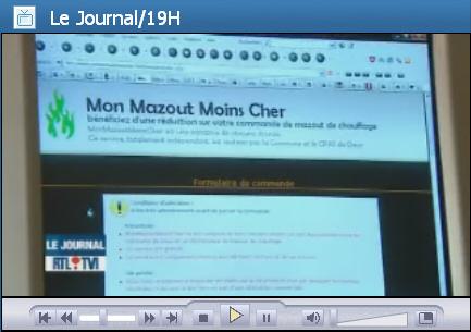 MonMazoutMoinsCher sur RTL-TVI