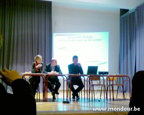 La Bouverie - Réunion d'information relative à la libéralisation du marché de l'énergie