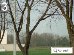 Ouskonné - les éoliennes