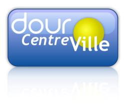 Dour, dourcentreville, logo