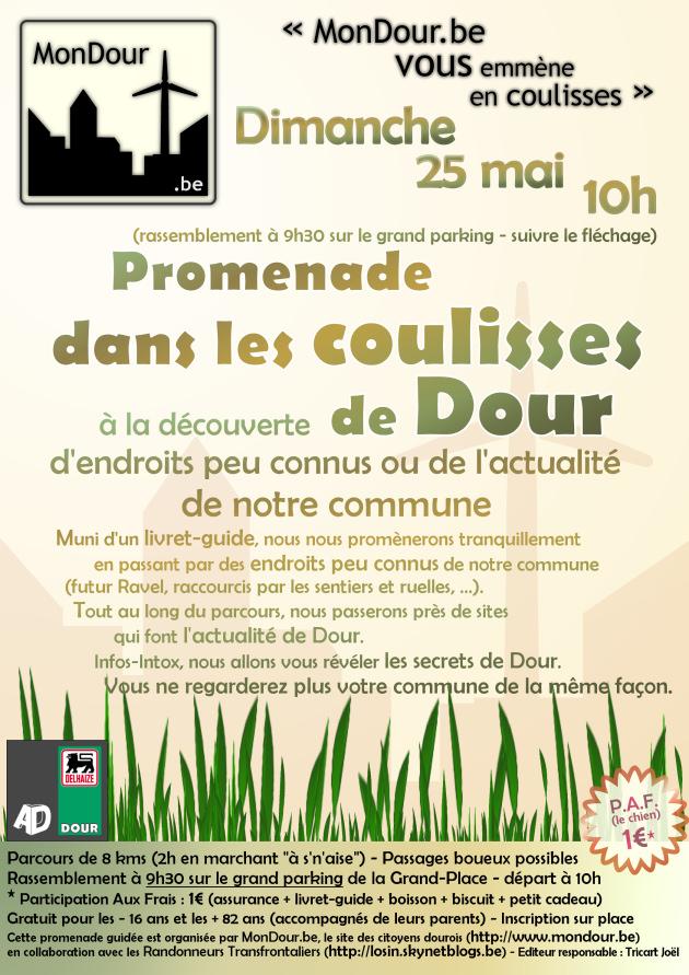MonDour, randonnée familiale le dimanche 25 mai 2008 à 9h30
