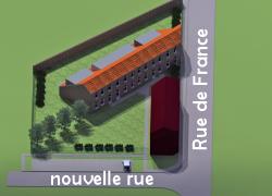 Dour, Belvédère - le Relais-Condorcet, avant-après